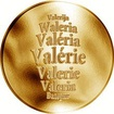 Česká jména - Valérie - zlatá medaile
