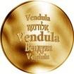 Česká jména - Vendula - zlatá medaile