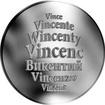 Česká jména - Vincenc - stříbrná medaile