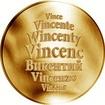 Česká jména - Vincenc - zlatá medaile