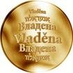 Česká jména - Vladěna - zlatá medaile