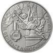 Vojtěch Hynais - 160. výročí narození stříbro patina