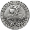 Zavedení československé koruny  - 95. výročí stříbro patina