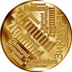Česká jména - Zikmund - velká zlatá medaile 1 Oz