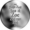 Česká jména - Zoe - stříbrná medaile
