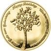 Medaile k životnímu výročí 10 let - 1 Oz zlato Proof
