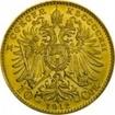 Zlatá mince Desetikoruna Františka Josefa I. 1912 (novoražba)