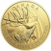 Zlatá mince Jelen Wapiti 1 Oz 2017