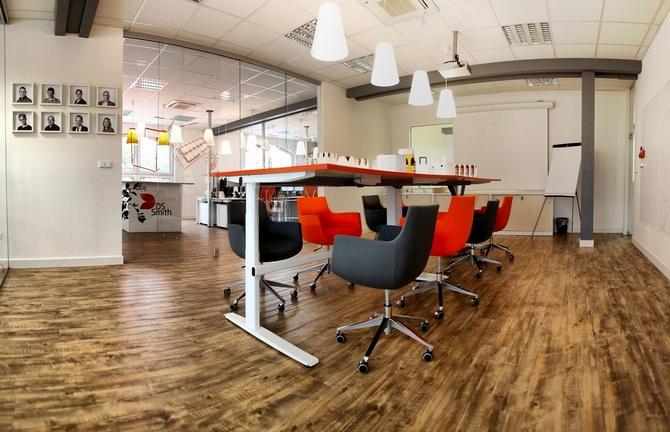 Space plan budoucích kanceláří řeší klient s architekty