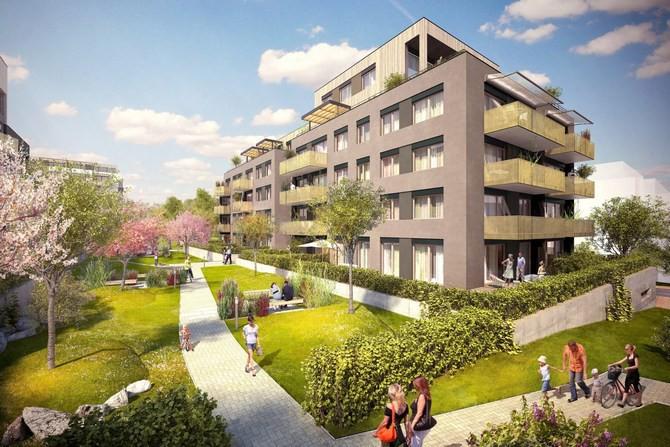 Architektonicky výrazný projekt s výhledy do zeleně