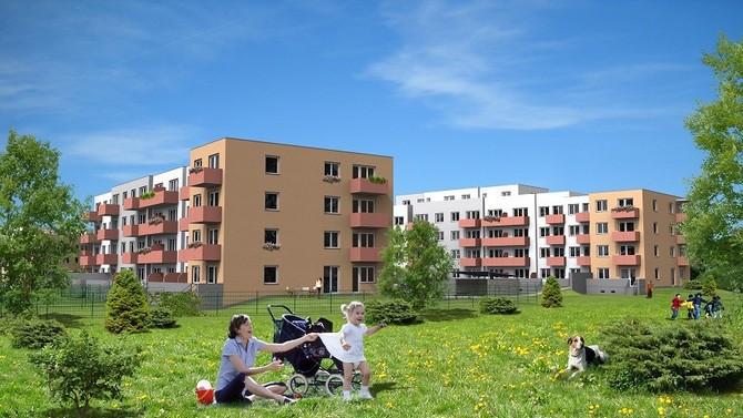 Zájem o bydlení v této lokalitě je obrovský