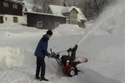 Dvoustupňové sněhové frézy