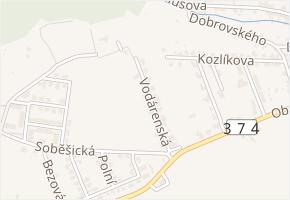 Vodárenská v obci Bílovice nad Svitavou - mapa ulice