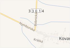 Bobnická v obci Bobnice - mapa ulice