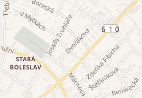 Vrchlického v obci Brandýs nad Labem-Stará Boleslav - mapa ulice