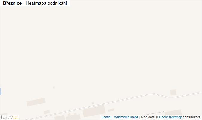 Mapa Březnice - Firmy v obci.