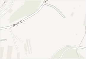 Brno-Komín v obci Brno - mapa městské části