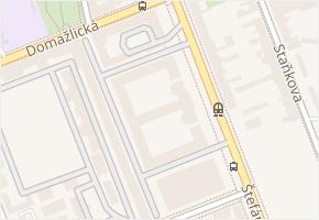 Štefánikova v obci Brno - mapa ulice