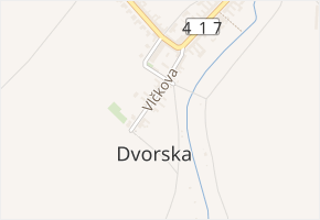 Vlčkova v obci Brno - mapa ulice