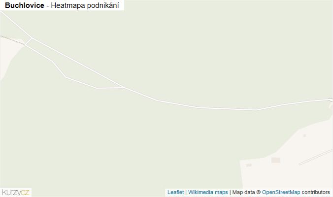 Mapa Buchlovice - Firmy v obci.