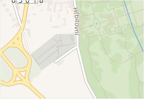 Hřbitovní v obci Buchlovice - mapa ulice