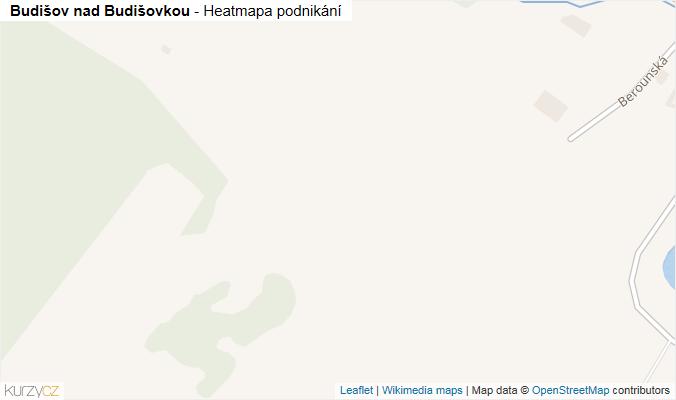 Mapa Budišov nad Budišovkou - Firmy v obci.