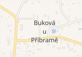 Buková u Příbramě v obci Buková u Příbramě - mapa části obce