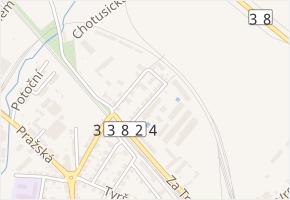 Nad Rezkovcem v obci Čáslav - mapa ulice