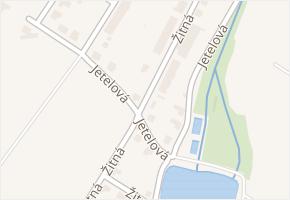 Žitná v obci Čáslav - mapa ulice