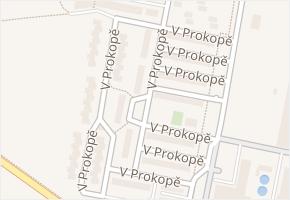 V Prokopě v obci Čelákovice - mapa ulice