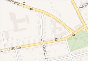 E. Rošického v obci České Budějovice - mapa ulice