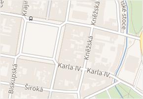 nám. Přemysla Otakara II. v obci České Budějovice - mapa ulice