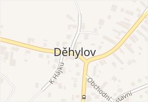 Děhylov v obci Děhylov - mapa části obce