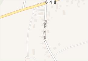 Vodárenská v obci Frýdek-Místek - mapa ulice