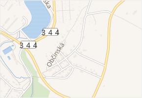 Břevnická v obci Havlíčkův Brod - mapa ulice