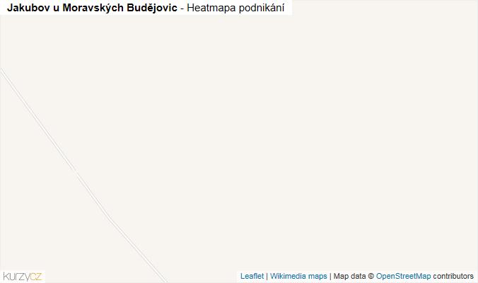 Mapa Jakubov u Moravských Budějovic - Firmy v obci.