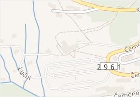 Černohorská v obci Janské Lázně - mapa ulice