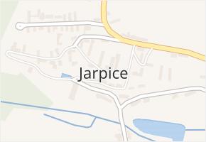 Jarpice v obci Jarpice - mapa části obce