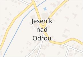 Jeseník nad Odrou v obci Jeseník nad Odrou - mapa části obce