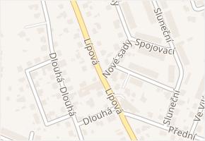 Horní Kosov v obci Jihlava - mapa části obce