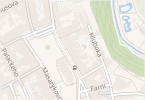 Jihlava v obci Jihlava - mapa části obce