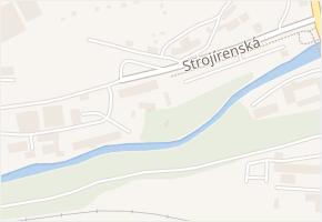 Strojírenská v obci Jihlava - mapa ulice