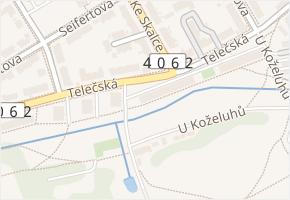 Telečská v obci Jihlava - mapa ulice