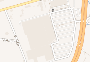 Chebská v obci Karlovy Vary - mapa ulice