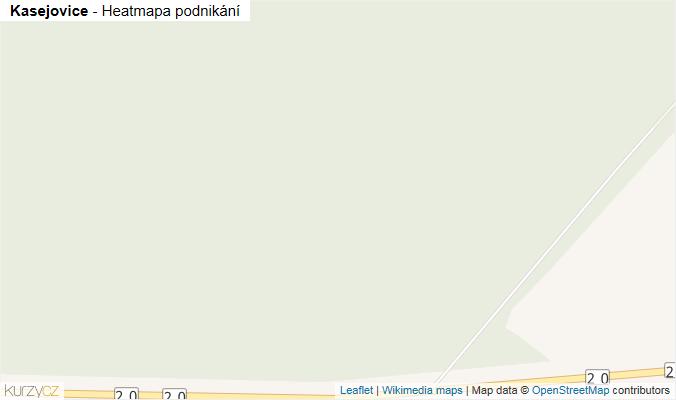 Mapa Kasejovice - Firmy v obci.