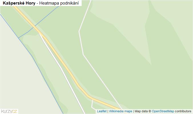 Mapa Kašperské Hory - Firmy v obci.