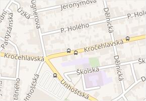 Kročehlavská v obci Kladno - mapa ulice