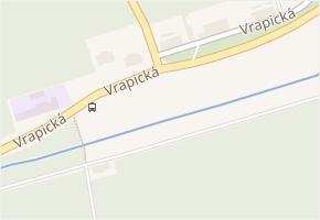 Vrapická v obci Kladno - mapa ulice