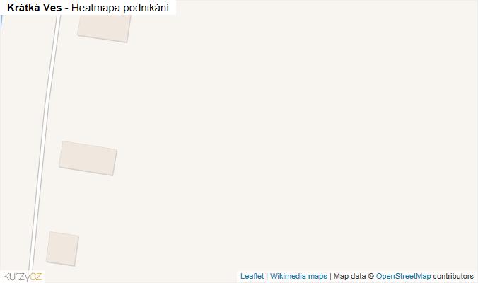 Mapa Krátká Ves - Firmy v obci.