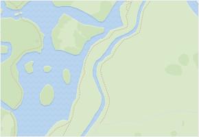 Park v obci Lednice - mapa ulice